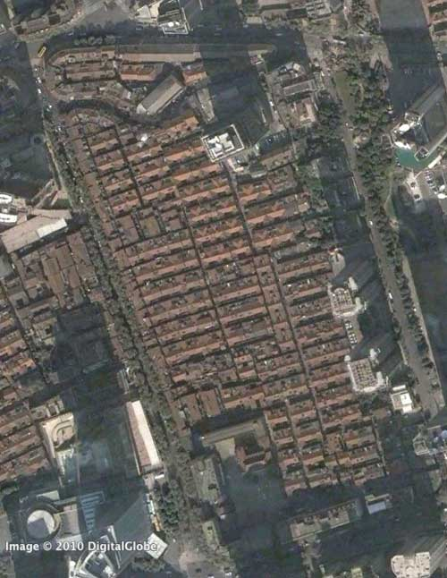 Google Earth Imagery of Wujiang Lu area in 2006 and 2009