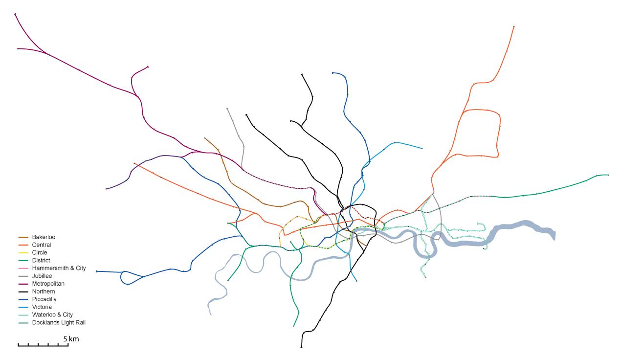 bricoleurbanism shanghai s metro and london s tube head to head Used Honda Odyssey full