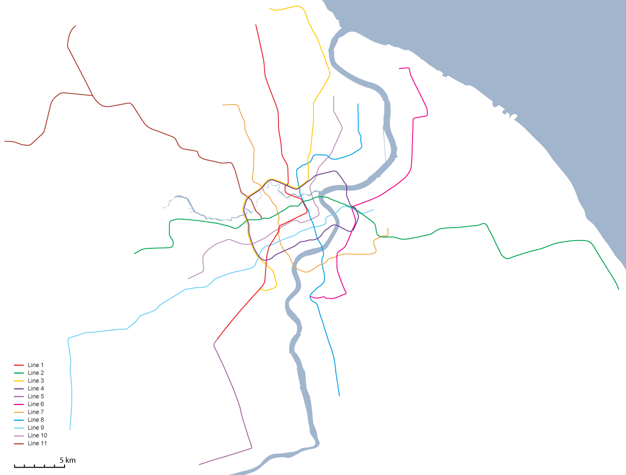 Subway Map Shanghai 2011.Bricoleurbanism Shanghai S Metro And London S Tube Head To Head