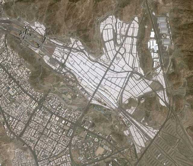 Bricoleurbanism Mina Tent City Mecca